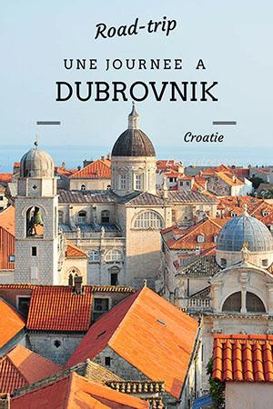 road-trip en croatie, dubrovnik, pinterest
