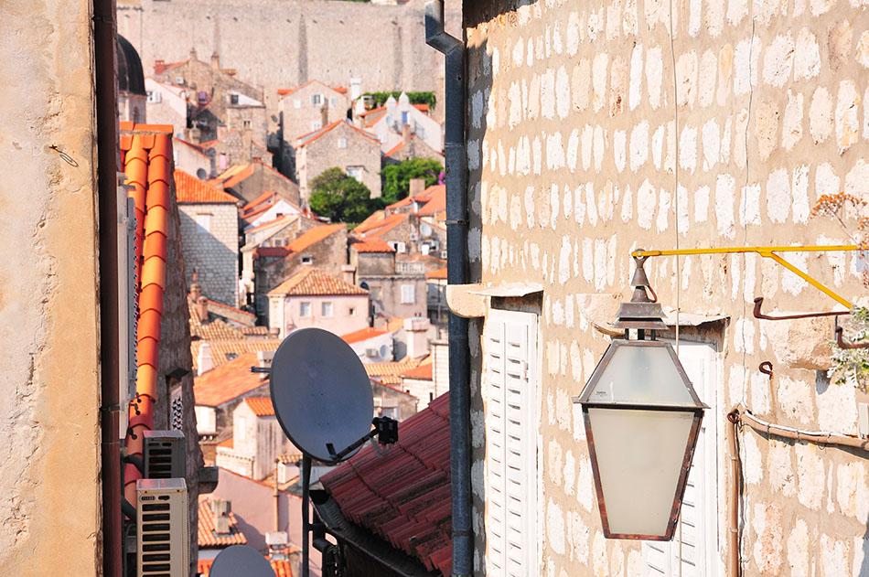 rues dubrovnik, fin de journée