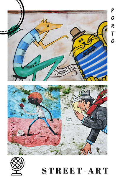 street-art à porto, pinterest