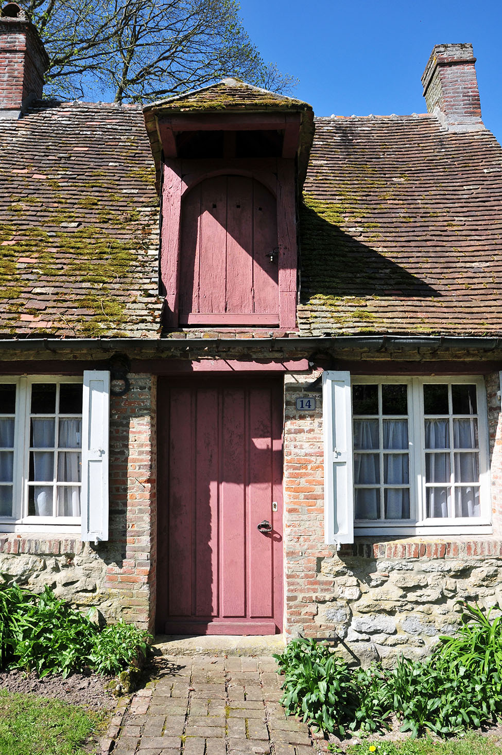 visite de gerberoy , l'un des plus beaux villages de France, dans l'Oise en Picardie
