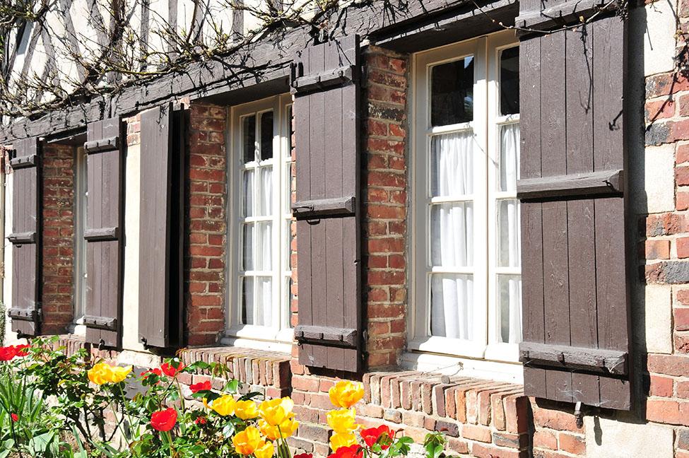 visite de gerberoy, l'un des plus beaux villages de France, dans l'Oise en Picardie