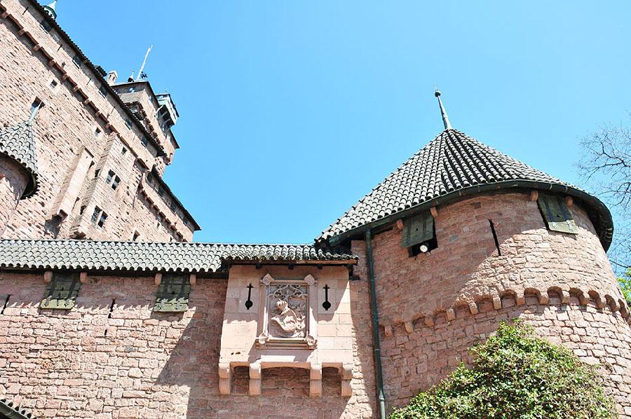 visiter le château du haut koenigsbourg, en alsace
