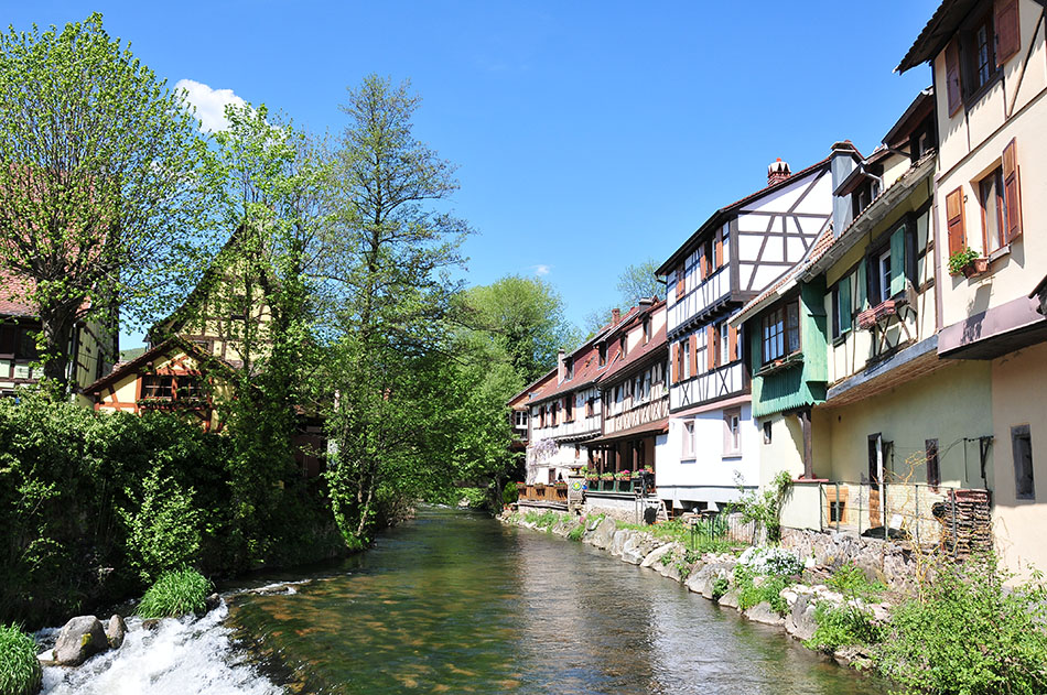 Kaysersberg en alsace un des plus beaux villages de france for Beau village autour de toulouse