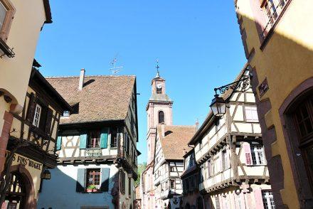 week-end en alsace et étape à riquewihr ,sur la route des vins, classé parmi les plus beaux villages de france