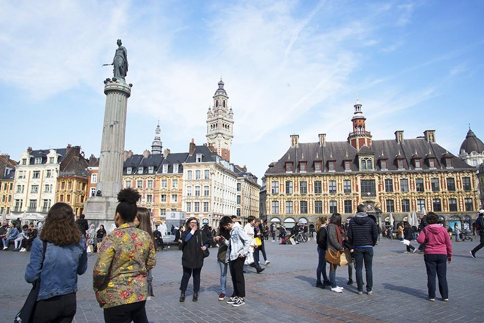 grand-place, choses à faire à Lille
