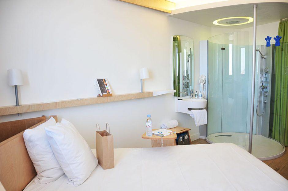 nuit au nomad hotels, le havre, hôtel éco-responsable, avis