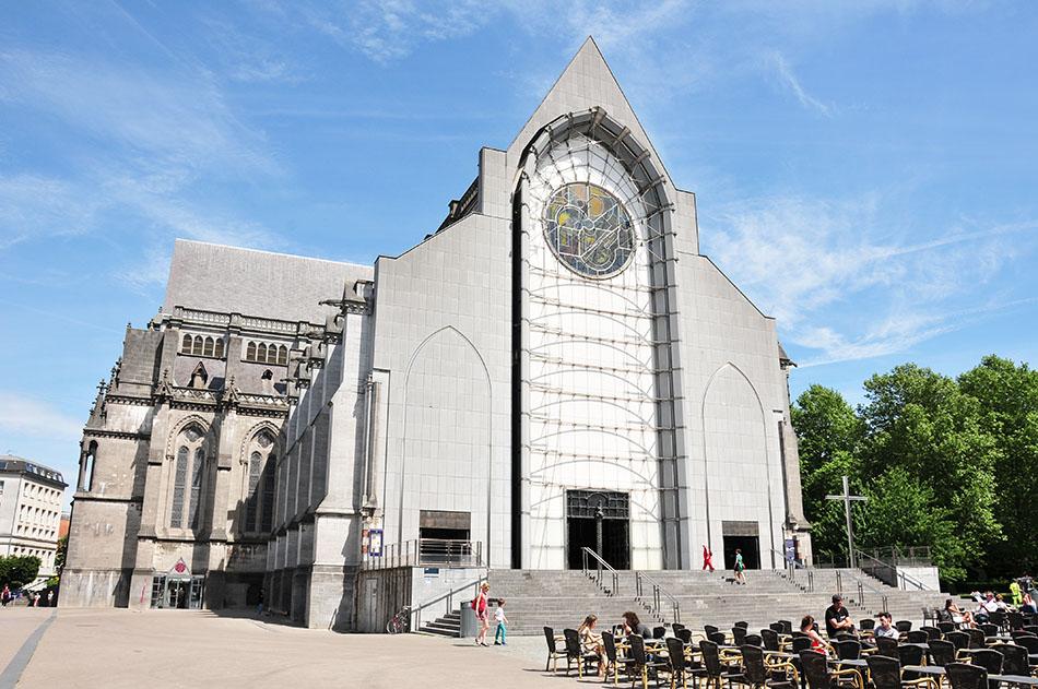 choses à faire à lille, visite de la cathédrale notre-dame de la treille