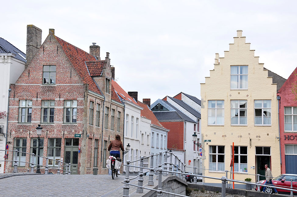 architecture flamande, bruges