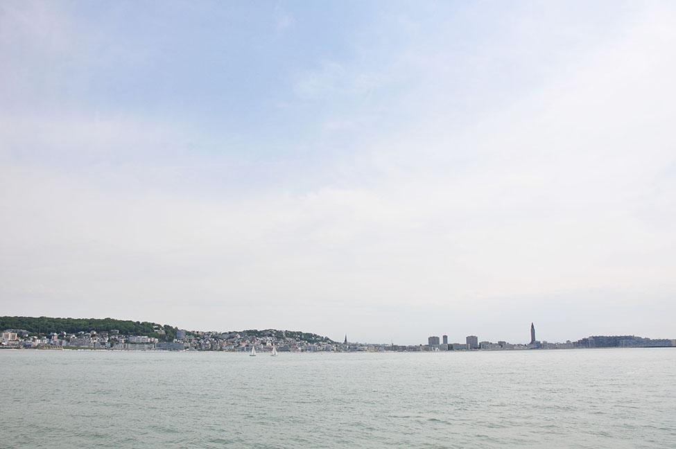 visite du port du havre et port 2000 en bateau