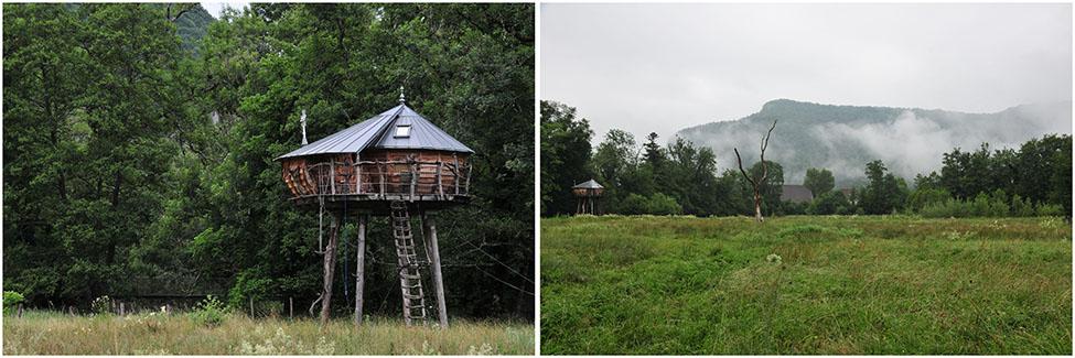 cabanes de chateau de la marquise mirabelle, Nans-Sous-Sainte-Anne