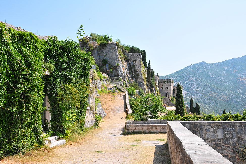 château de klis, croatie, lieu de tournage de la série game of thrones