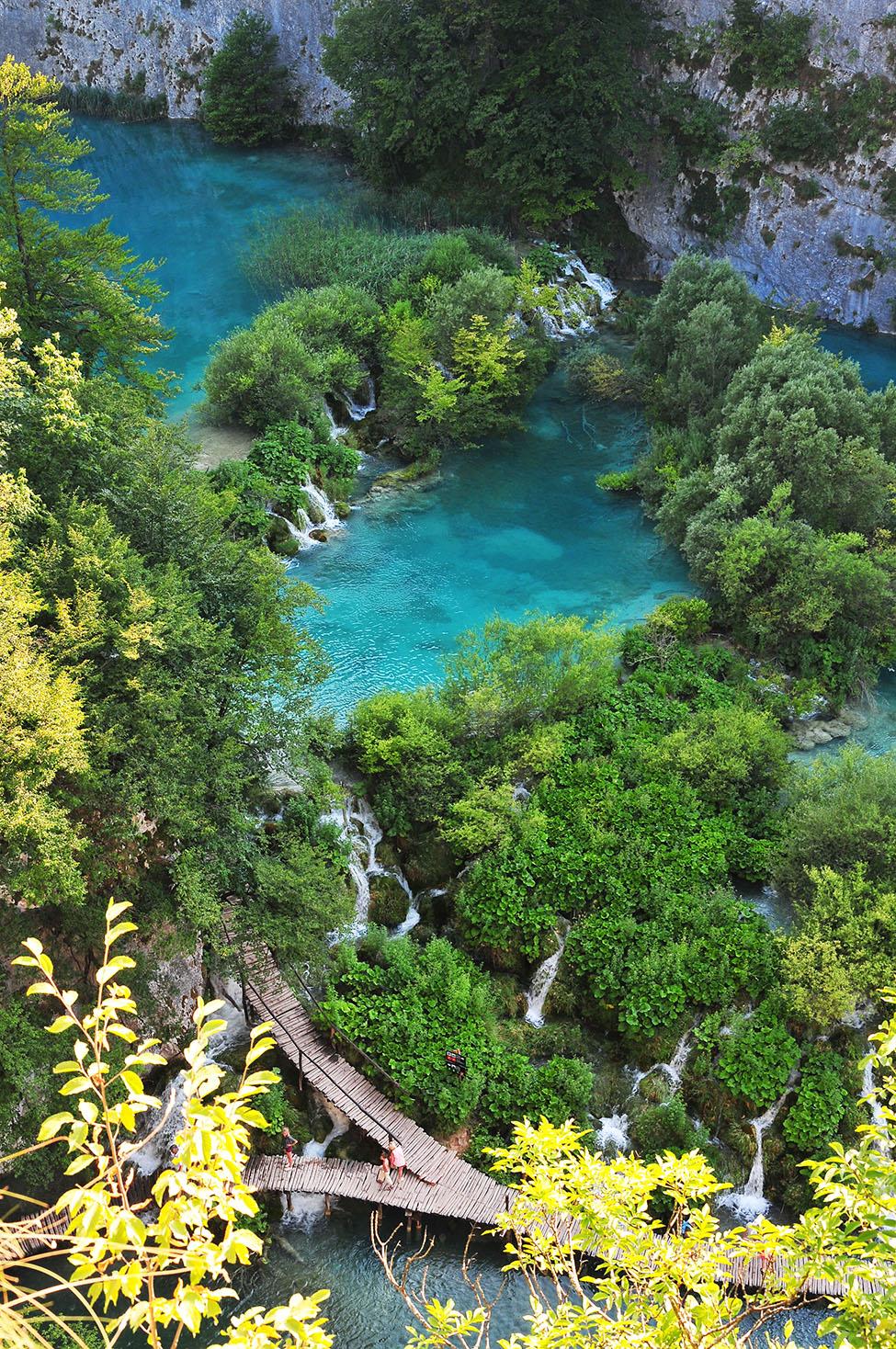 parc et lacs de plitvice, croatie