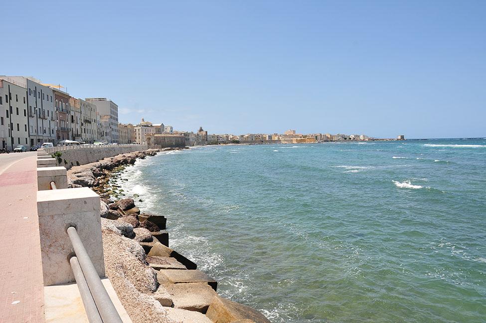 bord de mer, passeggiata, trapani