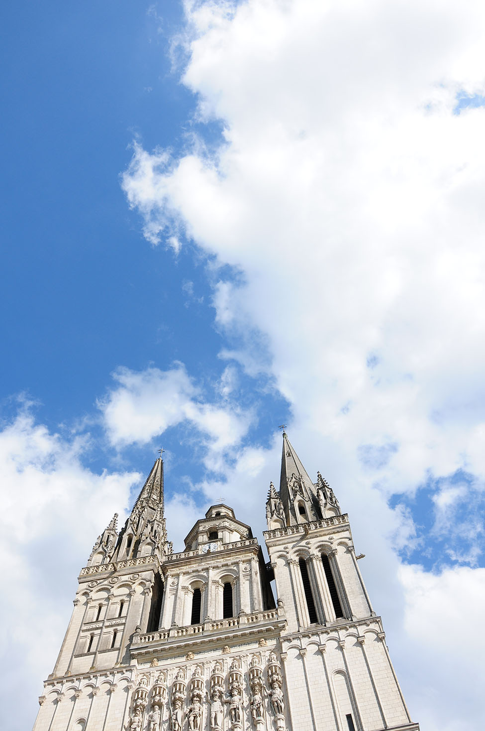 cathédrale saint-maurice, angers