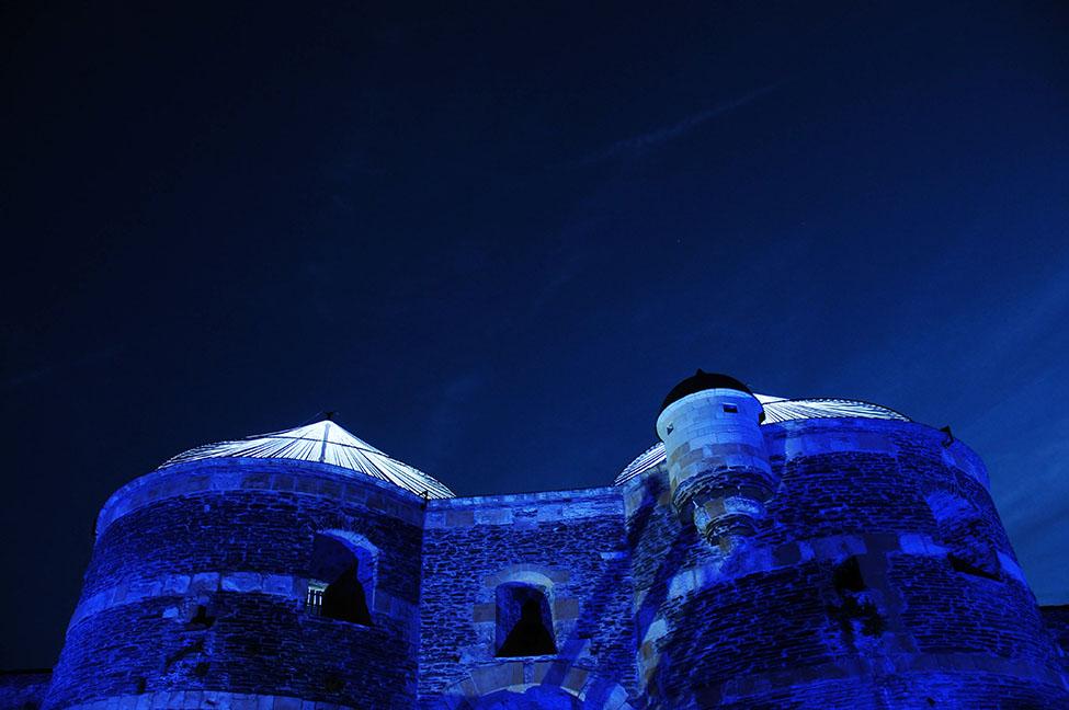 château d'Angers, balade du roi rené
