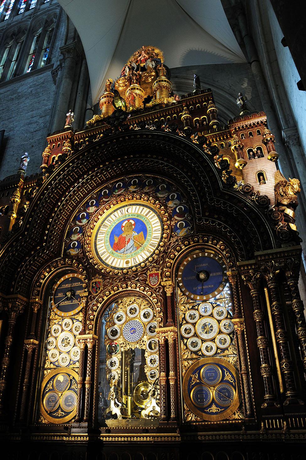 choses à faire dans l'oise: cathédrale et horloge astronomique de beauvais