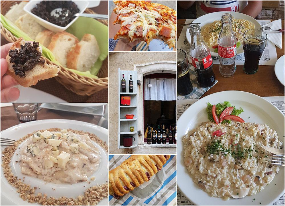 gastronomie en croatie, istrie