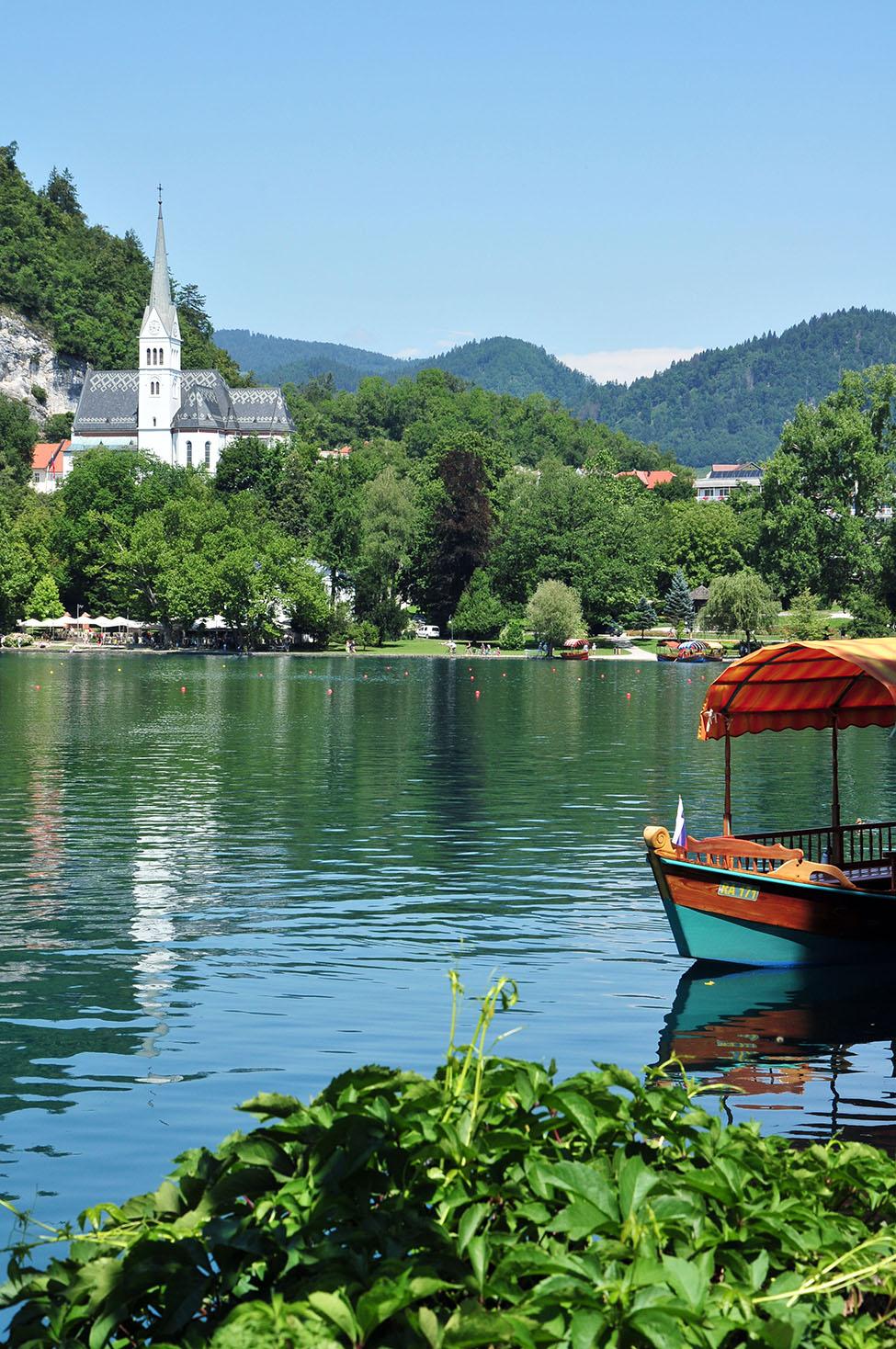 lac bled, slovénie, plus beaux lacs slovènes
