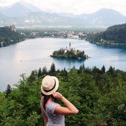 road-trip en slovénie: lac de bled