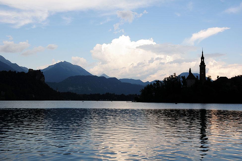 lac bled, slovénie