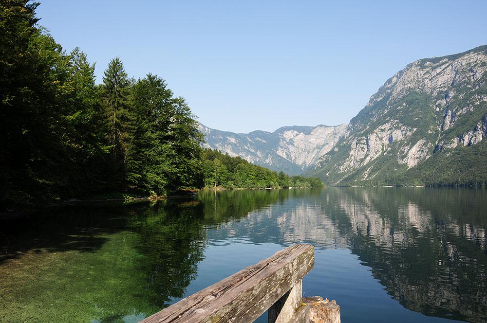 lac de bohinj, road-trip en slovénie