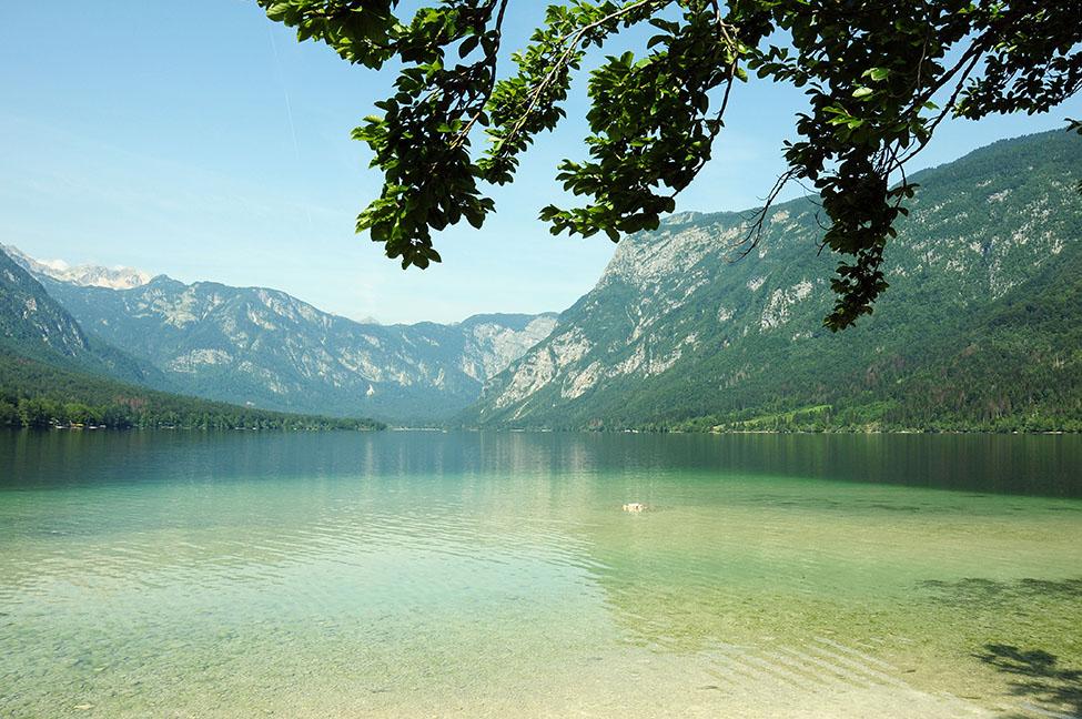 lac bohinj, lacs à voir en slovénie