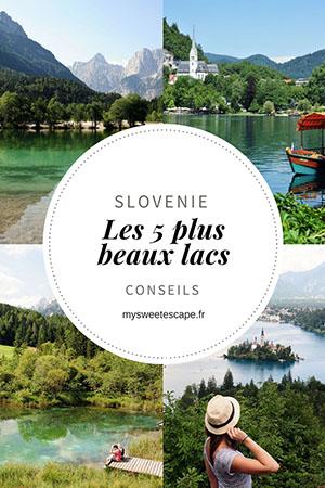 les plus beaux lacs slovènes