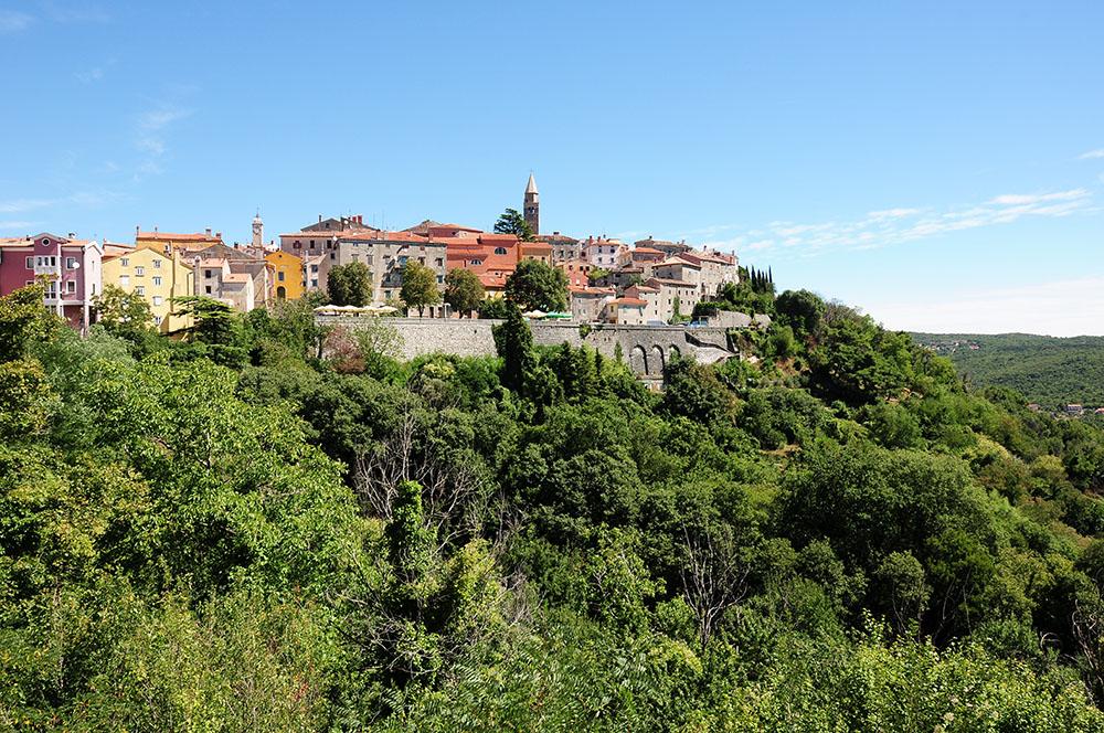 road-trip en Istrie : village de Labin