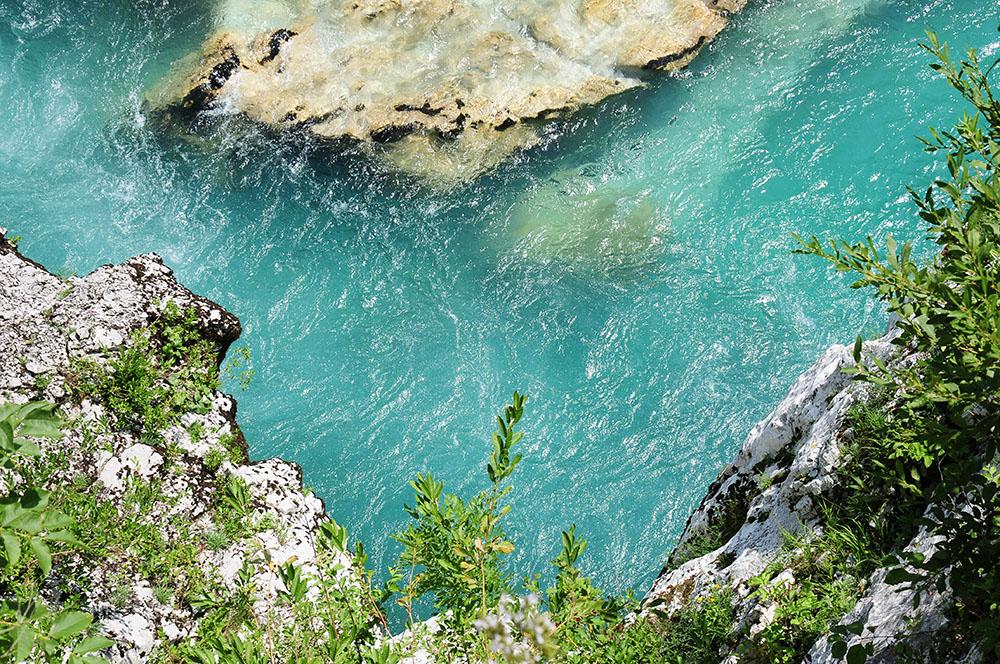 cascade de Kozjac, slovénie