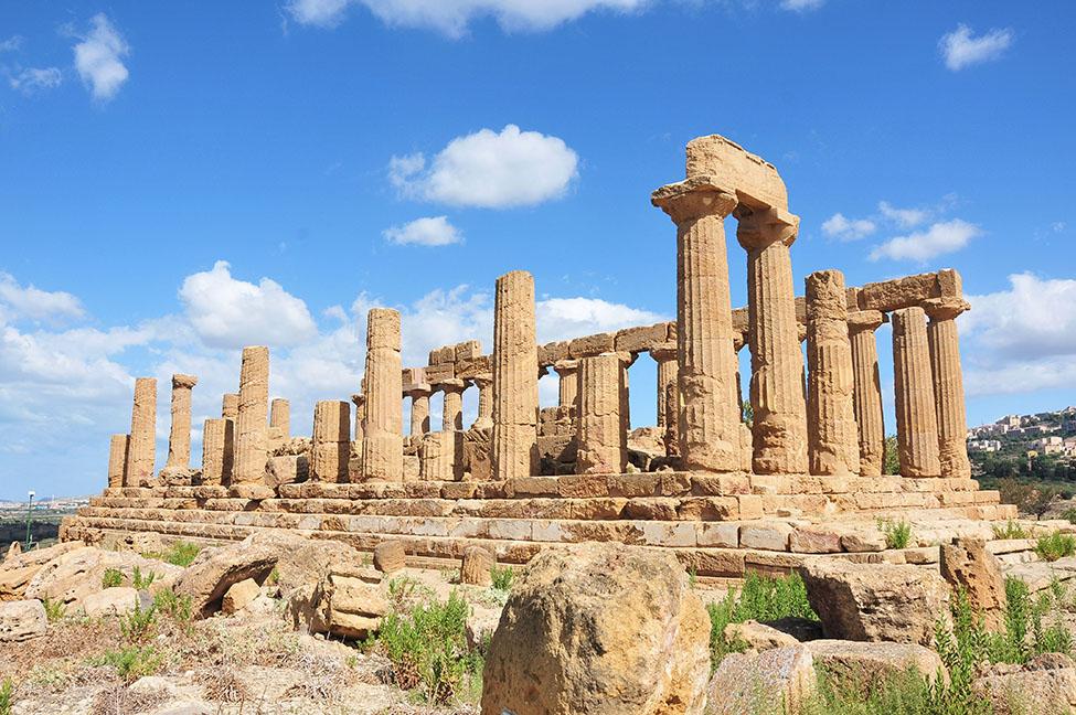 road-trip en sicile: visite de la vallée des temples à agrigente, temple d'héra