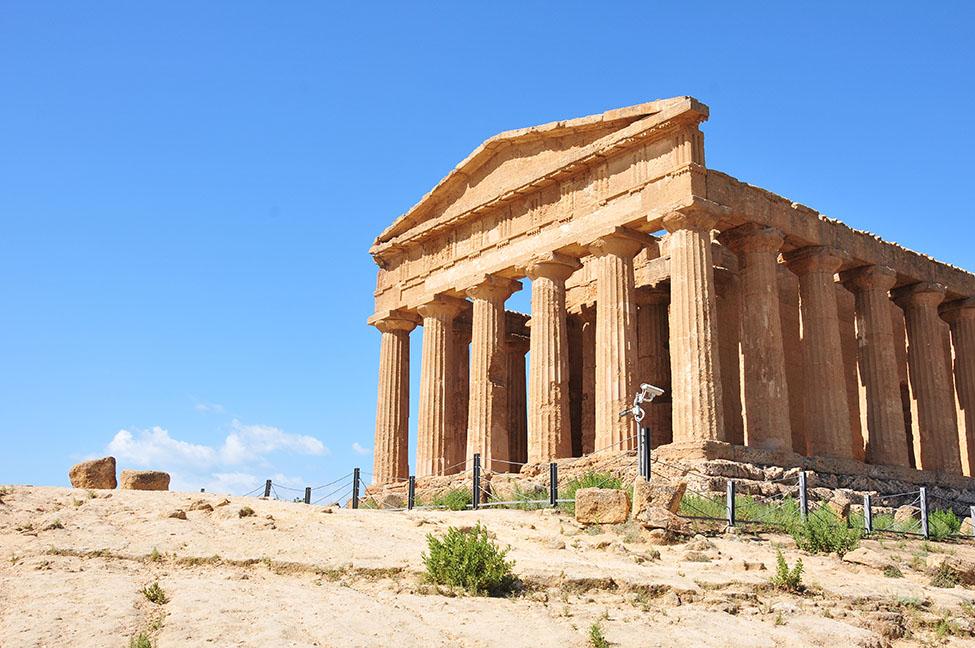 road-trip en sicile: visite de la vallée des temples à agrigente, Temple de la Concorde