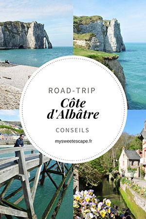 road trip côte d'albâtre, pinterest