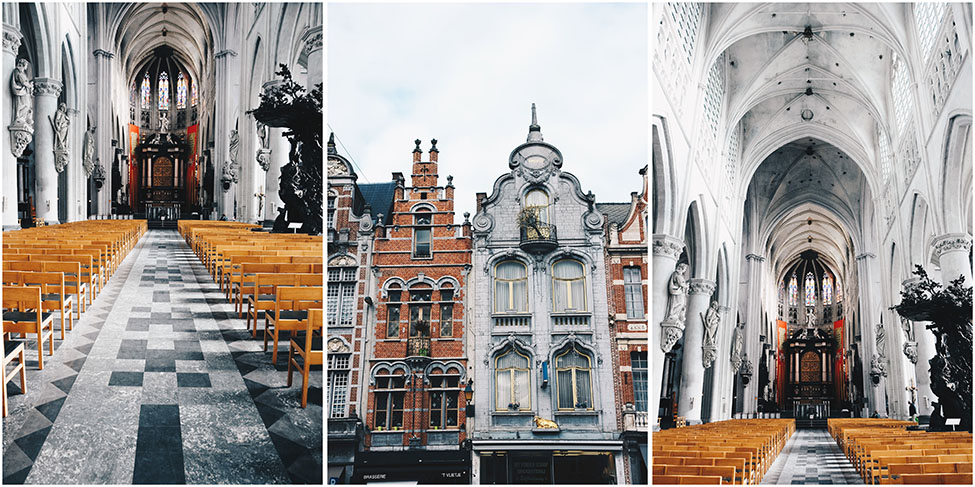 cathédrale de malines, week-end en Belgique