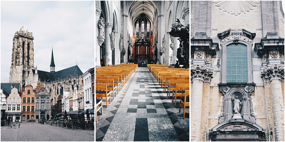 cathédrale de malines , week-end en Belgique