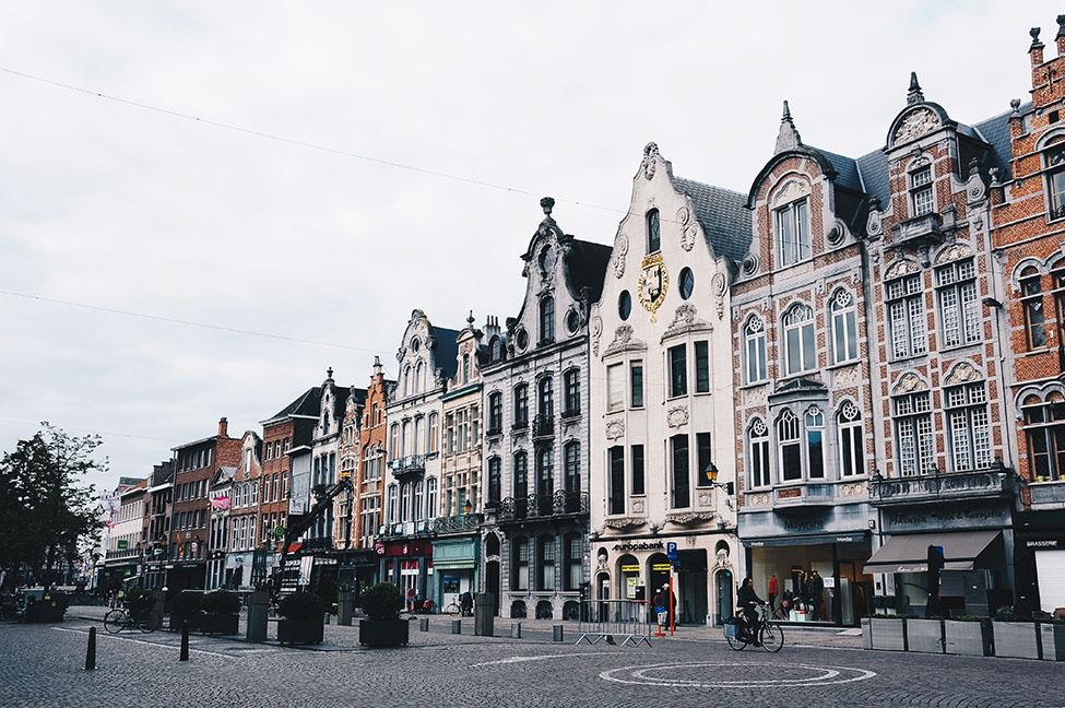 geitestraat et façades, malines