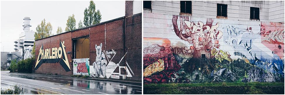 street-art à charleroi , balade à marchienne-au-pont