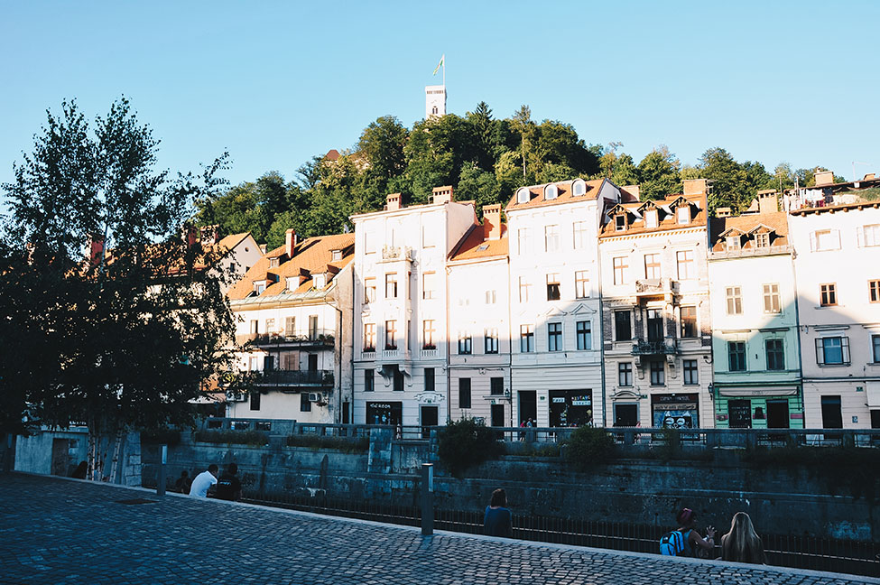 colline du château, Ljubljana