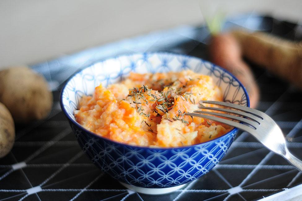 recette d 39 automne facile pur e de pommes de terre carottes et panais. Black Bedroom Furniture Sets. Home Design Ideas