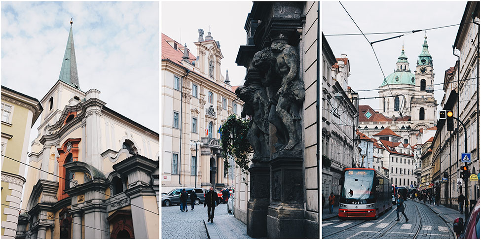 balade dans les rues de prague, week-end
