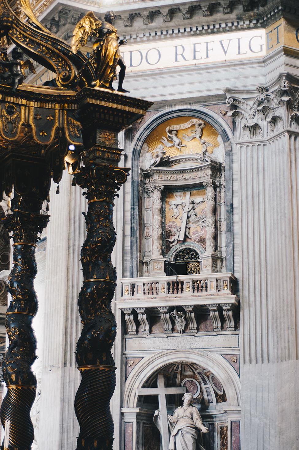 basilique saint-pierre, week-end à rome