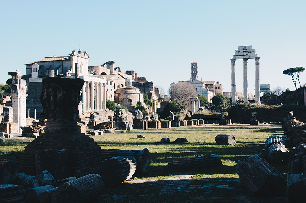 forum, rome antique