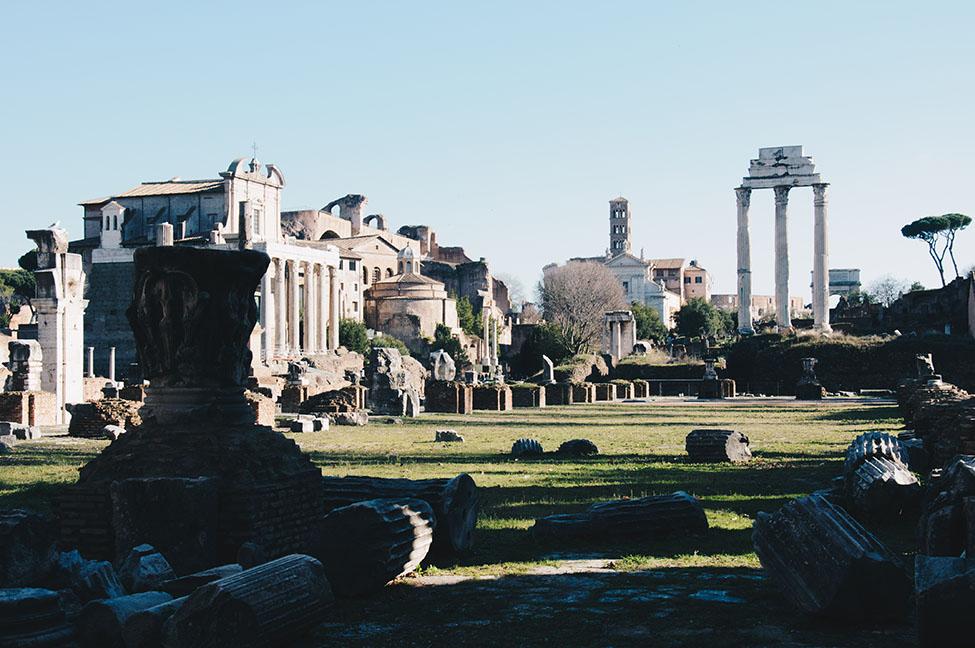 forum, rome antique