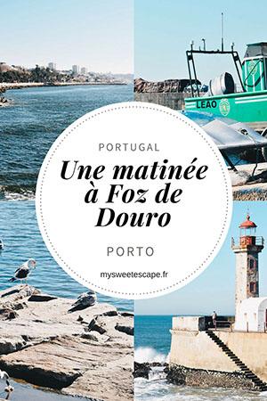 que faire autour de porto, matinée à foz de douro