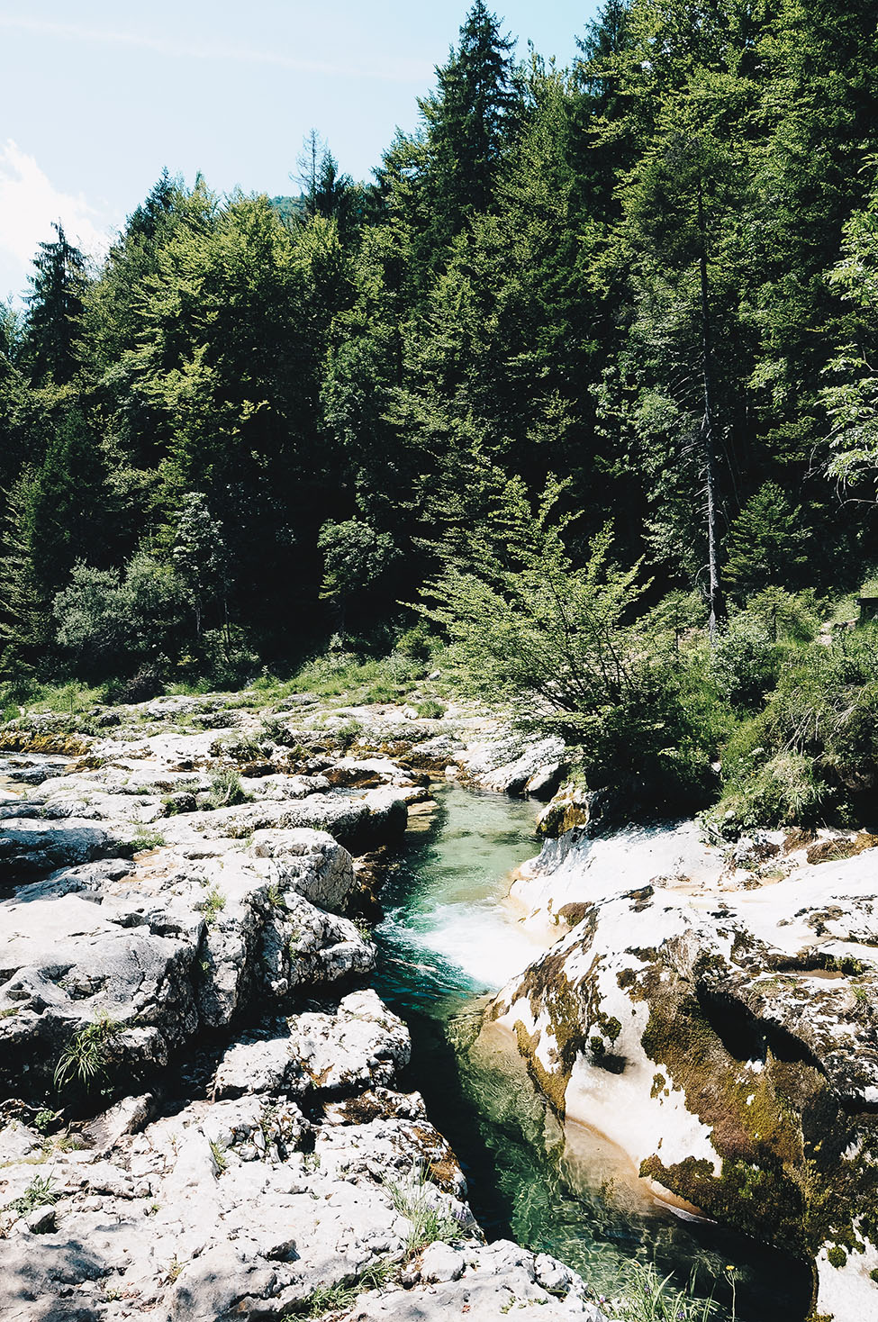 randonnée gorges de la mostnica, autour de bohinj, stara fuzina, slovenie