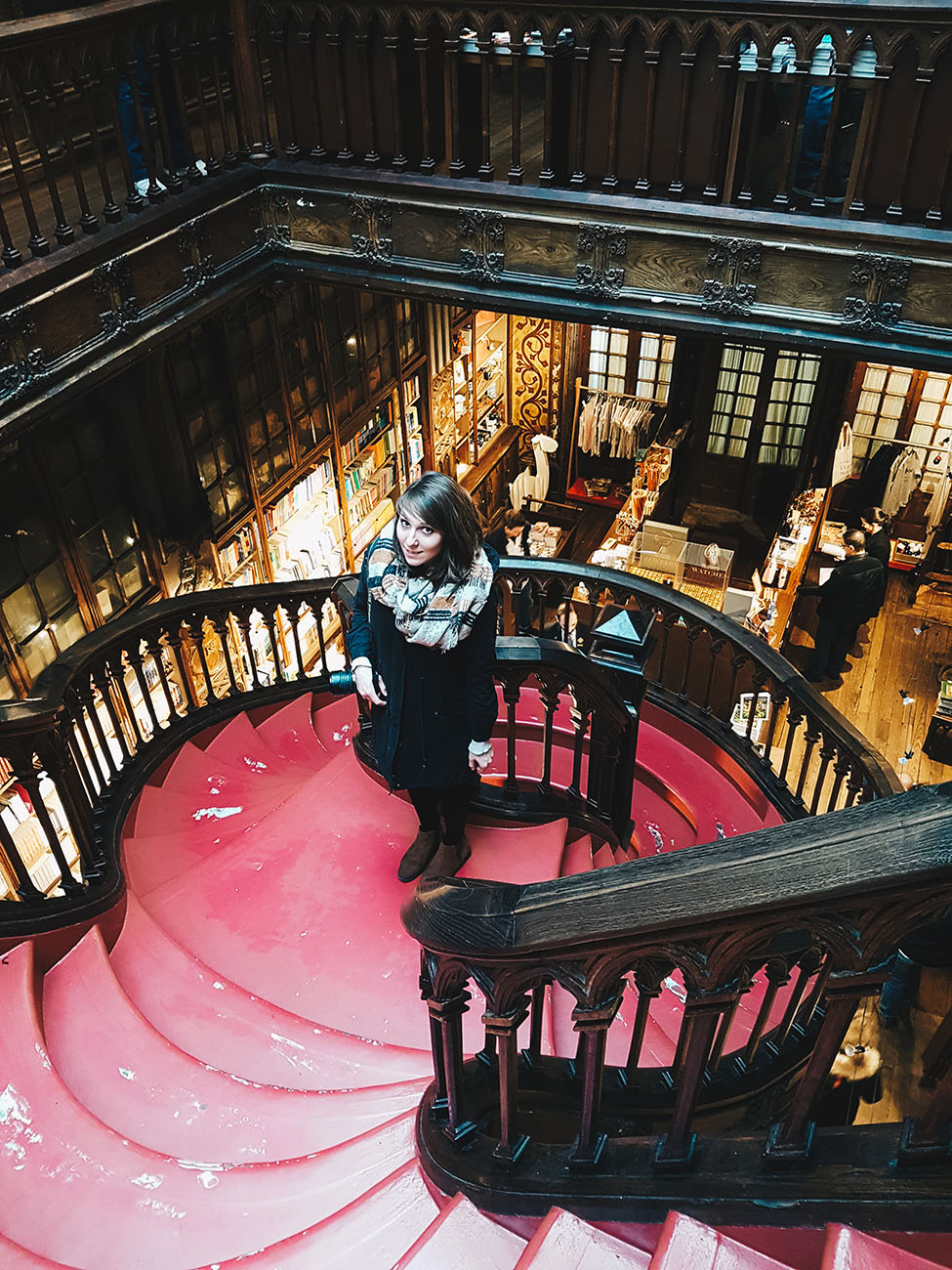 choses à faire à porto, librairie lello