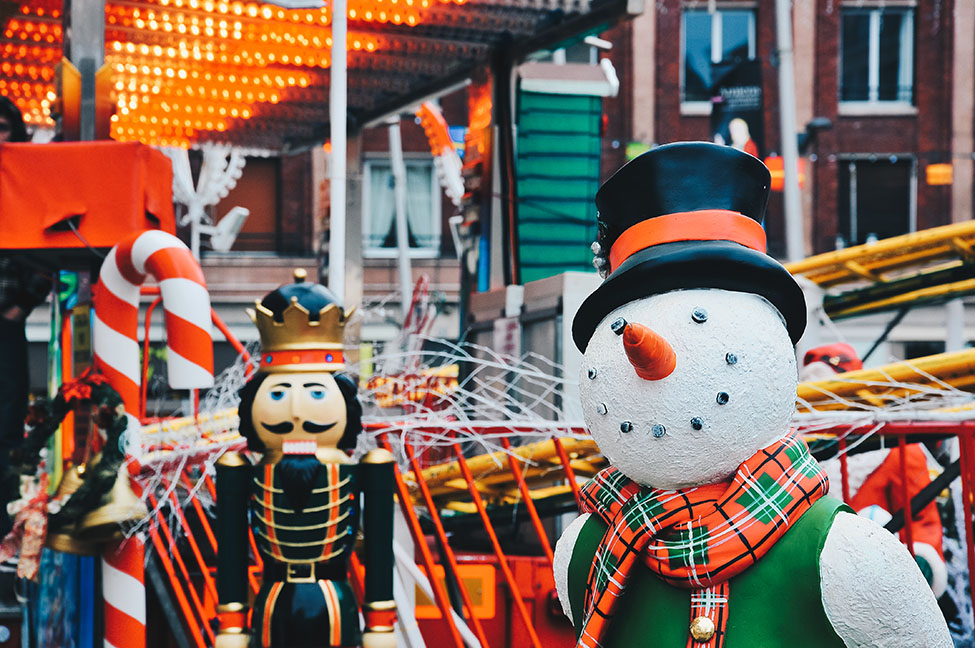marché de Noël, Amiens