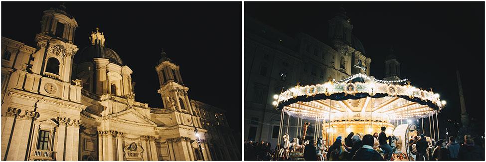 piazza navona, nuit, rome
