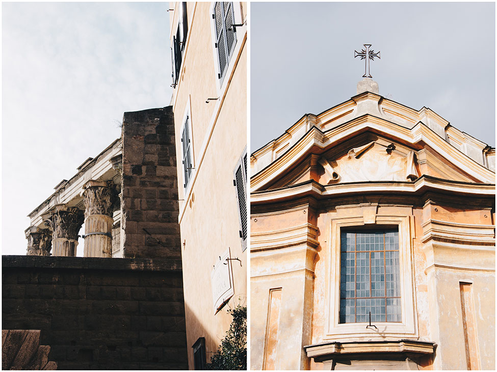 rue, rome