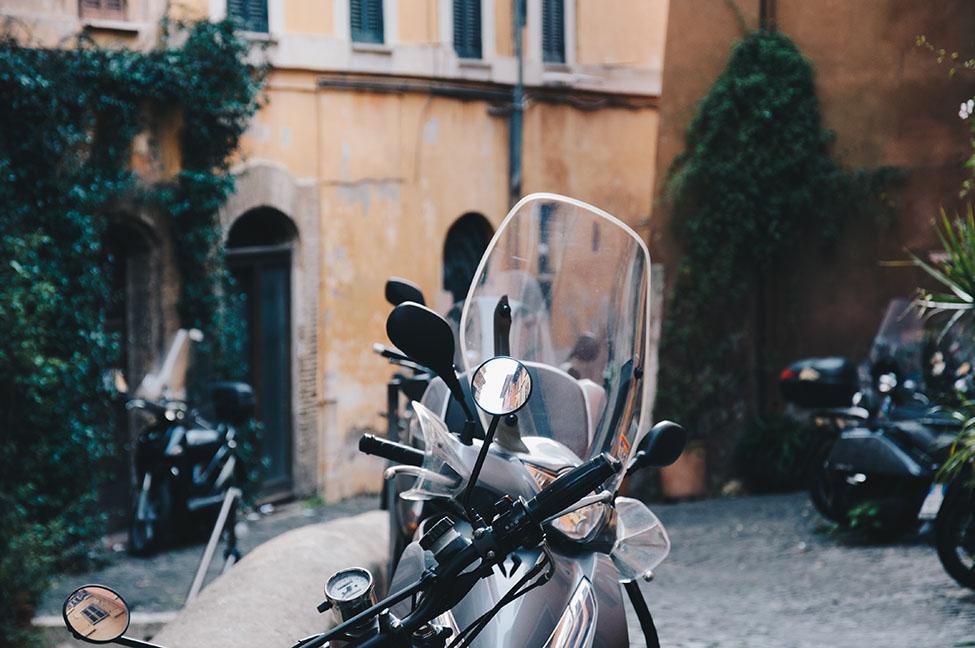 quartier du trastevere, rome