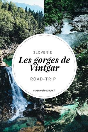 gorges vintgar, slovenie